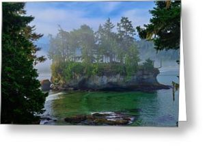 Misty Seastack Greeting Card