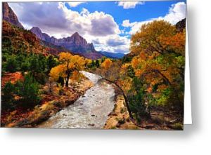 Virgin River Greeting Card